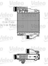Ladeluftkühler VALEO 818290