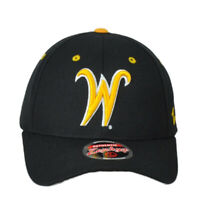 NCAA Zephyr Wichita State Shockers Black  Curved Bill Adjustable Hat Cap
