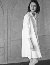 TOAST OVERSIZED ELVIRE WHITE DRESS SHIRT - UK 12 -NWT