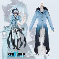 Anime SERVAMP UWOWO Sleepy Ash Cosplay Costume Kuro Mahiru Shirot Black Cat Neko
