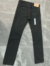 LEVI'S 501 BLACK JEANS W 32 L 36 NEW WITH TAGS!!!!!!!!!!!!!!