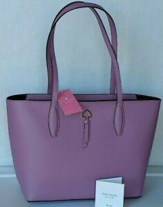 New Kate Spade New York Medium size Adel small Tote handbag Valerian *Lilac*