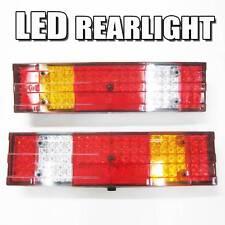 2x 24v 76 Rear led light Reverse Buzzer signal For Scania Volvo DAF MAN Iveco