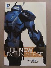 The New DC Universe 2011 Promo NEW 52 Preview 9.2 Near Mint-