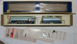 1975 AHM Rivarossi #1202 AT & SF Blue Goose 4-6-4 Steam Locomotive New in Box