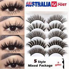 20 pairs Fake Eyelashes Natural Thick Long Lashes Black Handmade False Eyelashes
