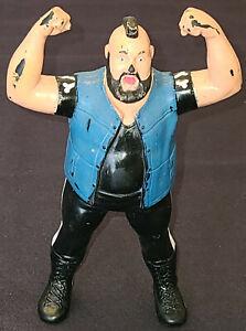 1988 - TITAN SPORTS - WRESTLING RUBBER FIGURE - WWF - ONE MAN GANG - LJN