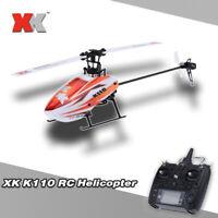 US NEW Original XK Blast K110 6CH 3D 6G System Brushless Motor RTF RC Helicopter
