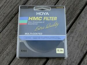 Hoya 72mm HMC ND400 Neutral Density Filter - Clean and Boxed - Free UK Postage