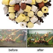 Pack Aquarium Material Ceramic Ring Filter Media Stone Fish Tank Supply Tool Lot