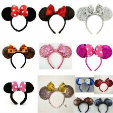Classic Minnie Mouse Disney Ears Headband Fancy Dress Ladies Kids