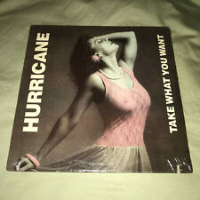 Hurricane Take What You Want Record NEW 80s Heavy Metal Hard Rock Music