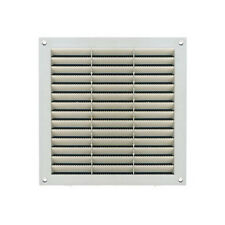 Griglia finestrella quadrata per aerazione plastica bianco  fissa cm 23X23