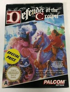 Defender of the Crown Boxed NES Nintendo Entertainment System Game