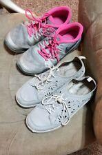 Lot 2 Big Girls/Women Shoes Nike & Jambu - size 6.5 & 7..preowned