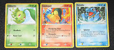 Chikorita, Cyndaquil, Totodile 51, 54, 78/101 Ex Unseen Forces Pokemon Card NM