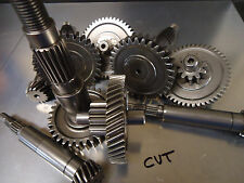 DRR Apex Polaris Eton TRANSMISSION GEARS ISF Treated Polished & Welded CVT rem