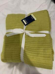 Brand New Primark Green Throw Blanket