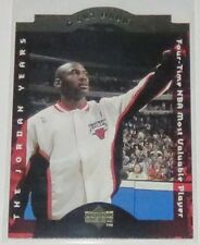1996/97 Michael Jordan Chicago Bulls Upper Deck A Cut Above Insert Card #CA7 NM