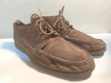 Sperry Top Sider Brown Suede Chukka Boat Shoes Men's 13