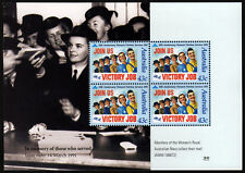 1991 Women's Wartime Services Minisheet ANZAC Stamps Mint Australia