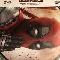 DEADPOOL 2 'ORIGINAL SOUNDTRACK' VINYL LP PICTURE DISC - BRAND NEW