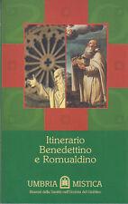 STORIA ARTE UMBRIA ITINERARIO BENEDETTINO E ROMUALDINO