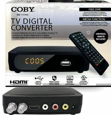 COBY CSTB-600 USB Multimedia Player Digital Converter for Standard Analog TV