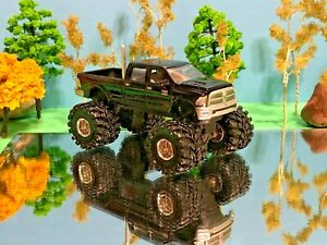 1/64 Custom Lifted Dodge Ram 2500, Tricked Out, Sweet, Farm Toy, Beautiful Black