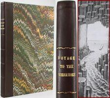 VOYAGE TO HEBRIDES*1822*WESTERN ISLES OF SCOTLAND*MANNERS/CUSTOMS OF HIGHLANDERS