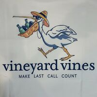 Vineyard Vines Mens S/S White Pocket T-shirt Pelican Last Call Sz XL~NEW TAGS
