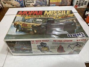 MPC MOPAR MISSILE DUSTER PRO STOCK ORIGINAL KIT FACTORY SEALED RARE! CIRCA 1972!