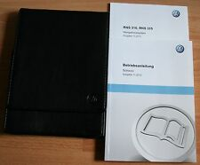 VW SCIROCCO 3 manuale di istruzioni manuale d'uso RNS 310 bordo cartella 11. 2013