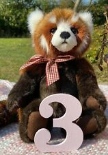 Charlie Bears Truckle - Red Panda - Plush - NEW - 2020 - #3