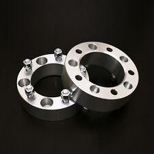 """2pc 2.0"""" Wheel Spacers - 5x5.5 to 5x5.5 - 9/16"""" Studs - Dodge Dakota Durango Ram"""