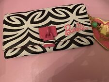 BNWT Rare Limited Edition Pauls Boutique Barbie Zebra Print Purse With Charm