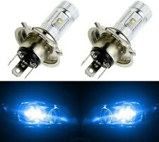 LED 30W 9003 HB2 H4 Blue 10000K Two Bulbs Head Light Replace Off Road Plug Play