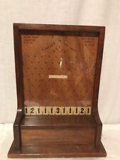 Antique Countertop Penny Drop Pin Field Trade Stimulator
