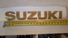 2x Stickers de reservoir SUZUKI Coloris au Choix !!
