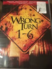 Wrong Turn 1-6 (DVD Movie Collection) Factory Sealed FAST SHIPPING
