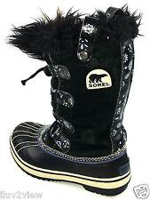 Sorel Tofino Youth Black Boots Size 1 US.