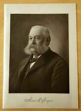 Dr. Albert Gallatin Sprague PORTRAIT Antique Print 1919 Providence & Warwick RI