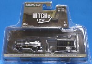 GREENLIGHT 1/64 HITCH & TOW SERIES 32220-D 1990 Chevrolet K5 Blazer Utica, N.Y.