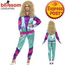80s Height Of Fashion Shell Suit Womens Costume