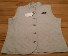 Oxford America Florida University Gators, Quilted Vest Color: Stone Size: M NWT
