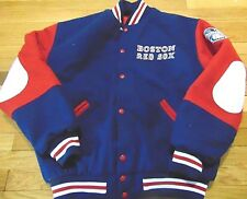 JERSEY EXPRESS MLB BOSTON RED SOX WOOL JACKET SIZE XL
