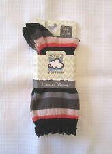 0b8f0e77037 World s Softest Jazz Crew Lace Cuff Striped Socks Eclipse Stripe Medium ...
