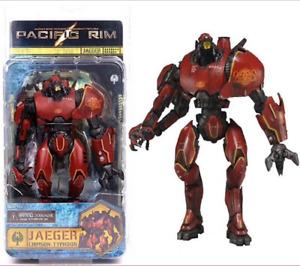 "NECA Pacific Rim Jaeger Crimson Typhoon 7"" Action Figure Robot Gifts"