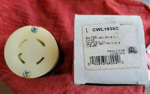 L1630-C Cooper device  CWL1630-C 30 AMP 480V  4 WIRE CORD connector female