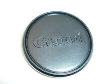 Canon 60mm Lens cap, for Filter size 58mm Push ON / Slip ON , Genuine Vintage